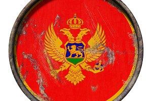 Old Montenegro flag