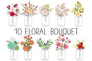 10 floral bouquets №2