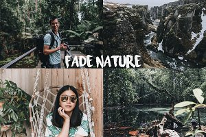 FADE NATURE LIGHTROOM PRESET