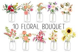 10 floral bouquets №3