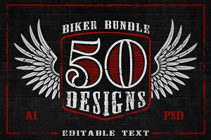 Biker Design Bundle