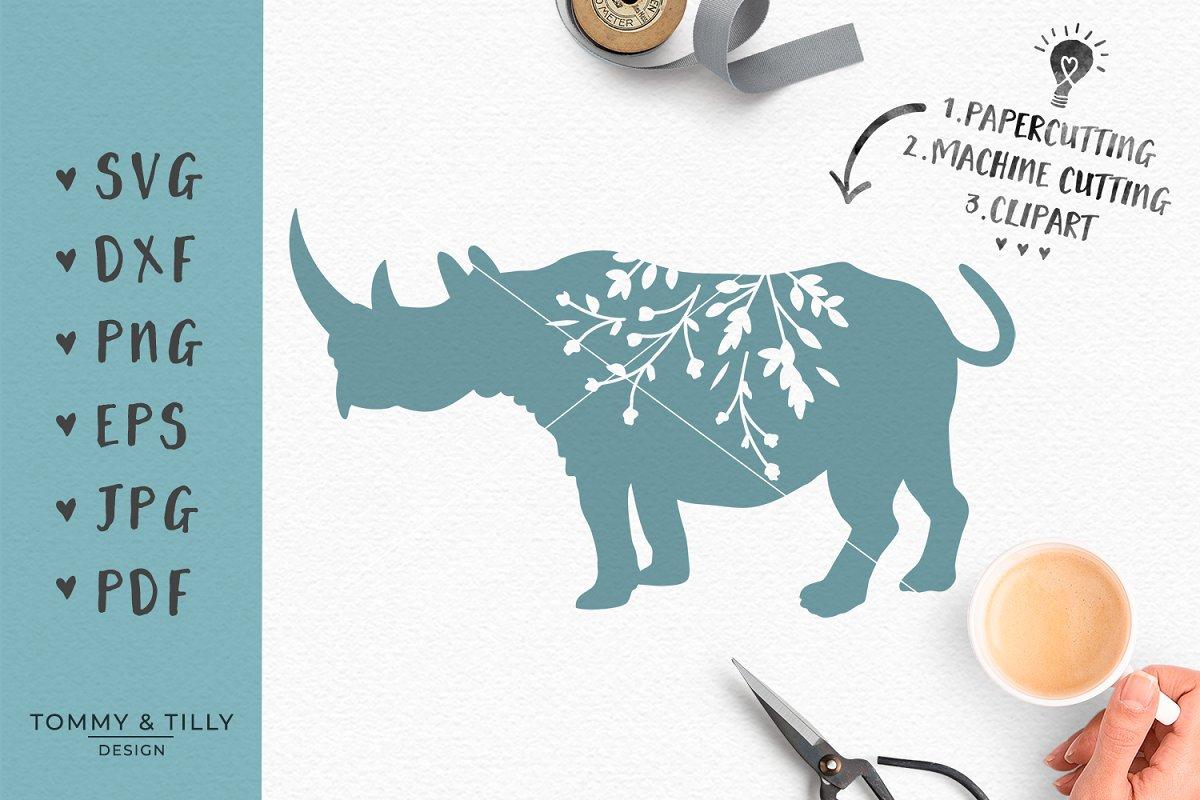 rhino clipart.html