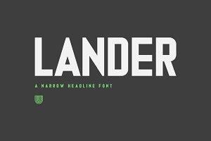 UTC Lander Font