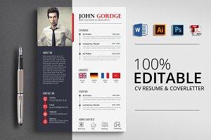 CV Resume Word