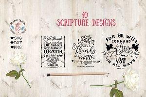 30 Scripture Designs
