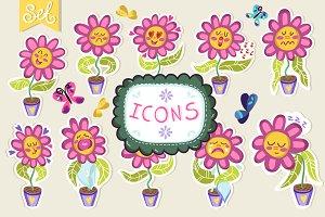 Flowers emoji