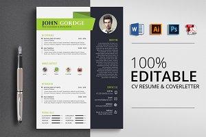 CV Resume 4 Format