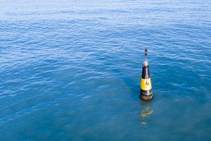 one safety buoy marker for marine sh