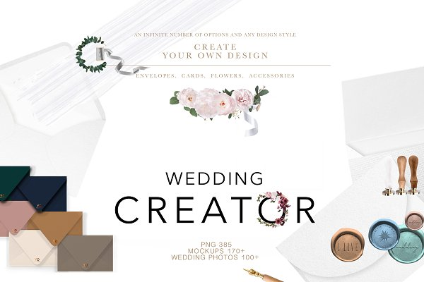 Product Mockups: OntheMoon - WEDDING - SUPER CREATOR. 500+
