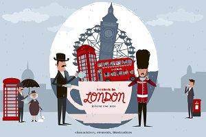 5 o'clock in LONDON