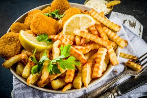British food, Fish and chips