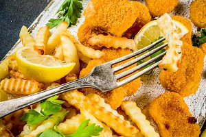 British food, Fish and chips