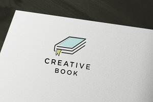 Creative Book Logo