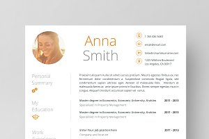 Resume Template 4 page | no.1