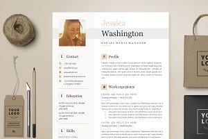 Resume Template 4 page | Jessica