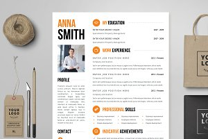 Resume Template 4 page | no.3