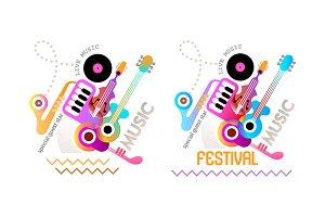 4 Music Festival Poster Designs