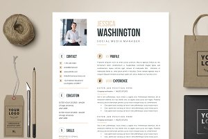 Resume Template 4 page | Vancouver