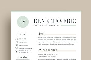 Resume Template 4 page | Mint