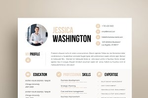 Resume Template 4 page | Mandalay