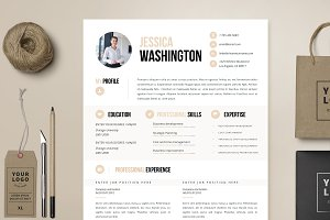 Resume Template 4 page | Mandalay