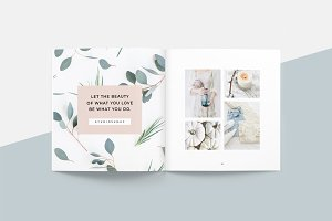 Magnolia Lookbook Template