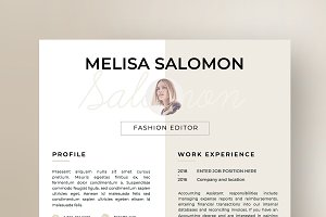Resume Template 1 page | Florence