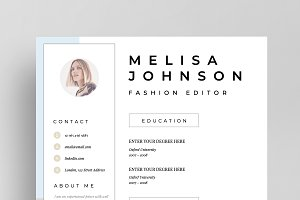 Resume Template 1 page | Lisbon