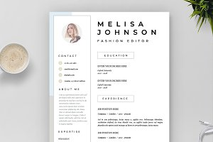 Resume Template 1 page | Lisbon
