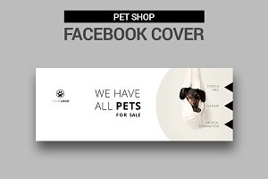 Pet Shop Facebook Cover