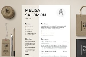 Resume Template 1 page | Rome