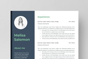 Resume Template 2 page | Budapest