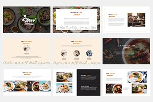 Stew Food Powerpoint Template