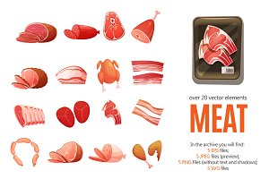 Meat and Butchery Set