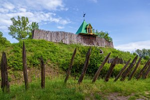 Old wooden fortress