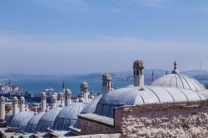 Istanbul view, Turkey in a beautiful