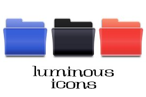 Luminous Desktop Folder Icons