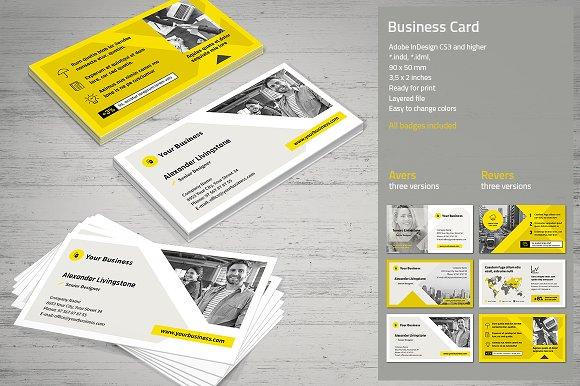 Business card vol 4 business card templates creative market colourmoves