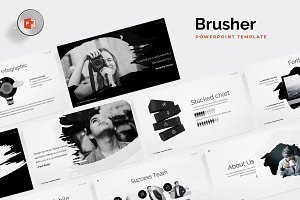Brusher - Powerpoint Template