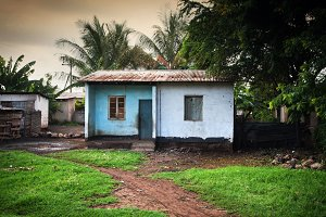 Small house in bad condintion, Kenya