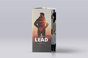 Nue Tri-Fold Brochure Template