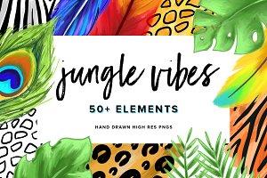 Jungle Vibes | Hand Drawn Elements