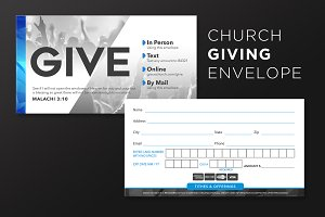 Church Giving Envelope