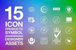 Designer Assets Vol3 : Icon/Symbol