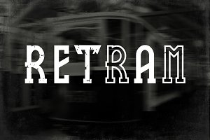 retram fonts family