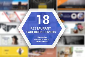 18 Restaurant Facebook Covers