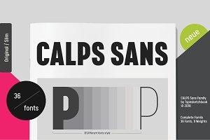 Calps Sans Font