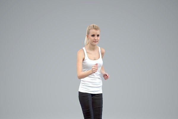 3D Characters: aXYZa Design - SWom0301-HD2-O01P01-S