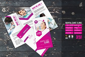 Dental Care Clinic Tri-Fold