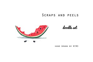 Scraps and peels collection